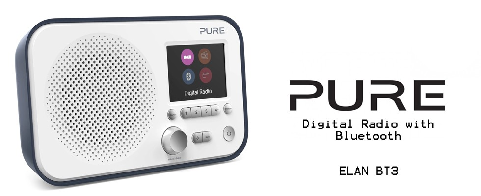Pure Radio Elan BT3