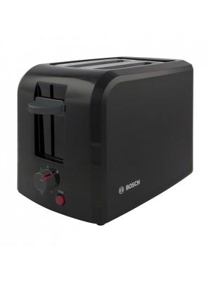 Bosch TAT3A0133GB Compact Toaster (Black/Black)