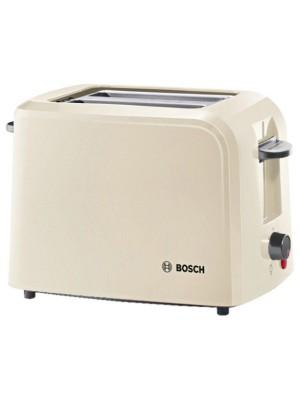 Bosch TAT3A0175GB Compact Toaster (Cream/Black)