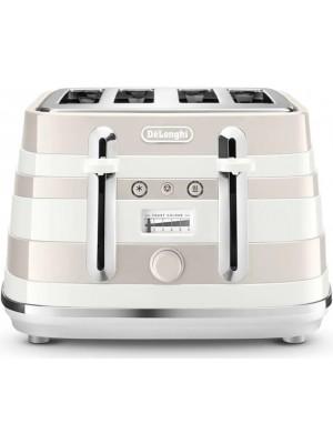 De'Longhi Avvolta Class CTAC4003.W Toaster