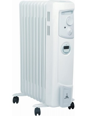 Dimplex OFC2000TI 2Kw Oil Filled Column Radiator With Timer