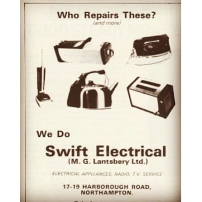 Another blast from the past. Retro advert.  Guess what? We still repair these and more.  #repairs #repairing #retro #fixit #fix #old #blastfromthepast #workshop #engineers #repair #dontthrowitaway #savetheplanet