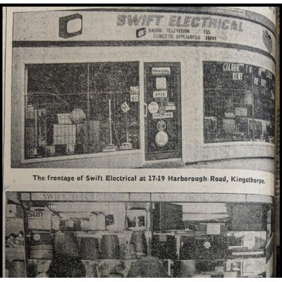 Another blast from the past.  Article from a Newspaper.  Check out the store front.  #blastfromthepast #old #retro #change #independent #store #shop