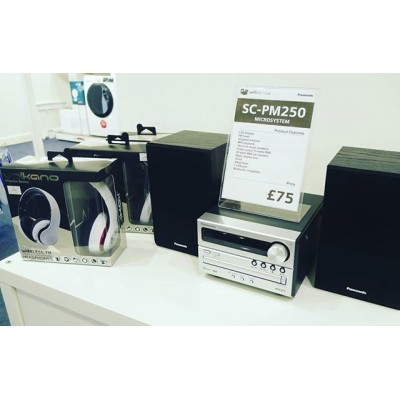 Panasonic Audio Systems from £75.  Perfect for all occasions  CD, Radio and Bluetooth  #audio #audioporn #audiophiles #audiophile #music #musiclovers #sound #chilltime