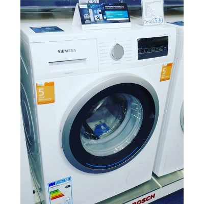 Siemens WM14N201GB 8kg Washing Machine.  Quiet Brushless motor, 5 year warranty. £530 but take advantage of the Siemens cashback offer and claim £50 back until 02.07.2019 £480  @siemens_uk @siemenshomeuk #cashback #deal #washing #technology #germanengineering