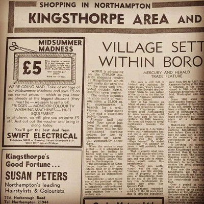 Another Newspaper Clipping from years ago... Or back in the day.  We still have amazing offers on a variety of products.  Pop in store or check out our website  #retro #sales #spares #repairs #old #oldbutnotobsolete #kingsthorpe #northampton #northamptonshire