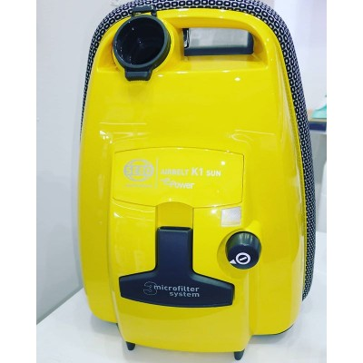 Bring a little sunshine in to your home with the Sebo K1 Sun Cylinder Vacuum Cleaner.  Compact, Durable, Powerful and now Colourful.  @sebo_uk @sebo_deutschland #germanengineering #german #clean #cleaning #sun #builttolast